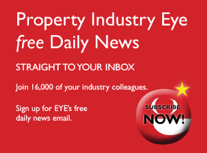 Sign up to receive the Property Industry Eye Daily News