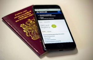 Passport And Mobile Phone &Mdash; Openview