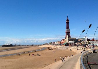 Property in Blackpool is proving popular.